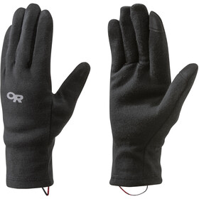 Outdoor Research Woolly Guantes Interiores, negro